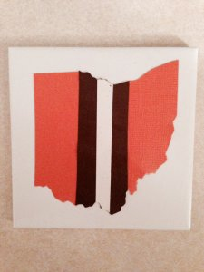 browns coasters