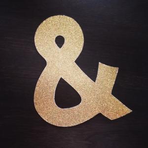 cricut ampersand