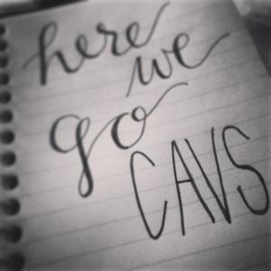 go cavs writing